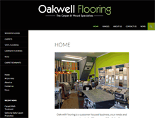 Tablet Preview of oakwellflooring.co.uk